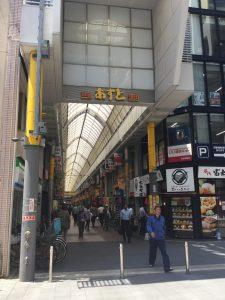 商店街を抜けて京急蒲田へ徒歩5分